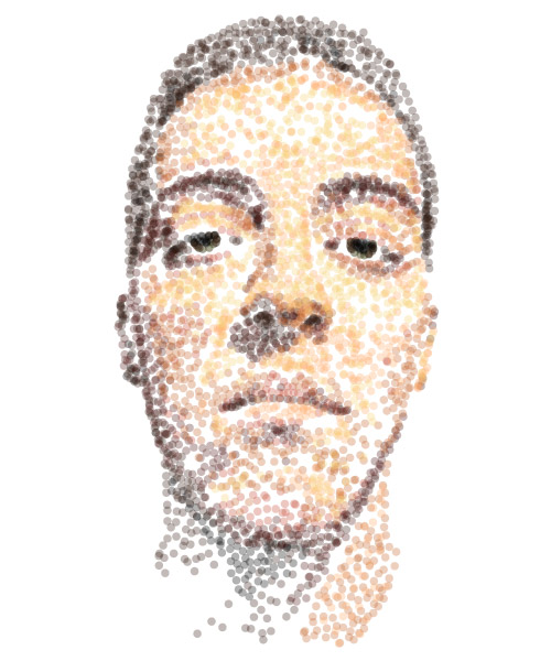 dot portrait