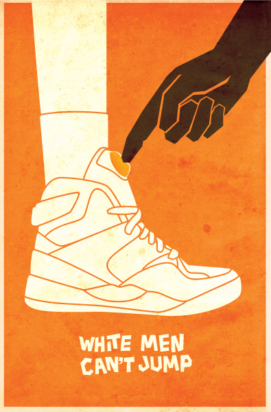 White Men Can't Jump - poster design