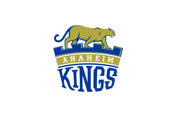 Anaheim Kings logo design