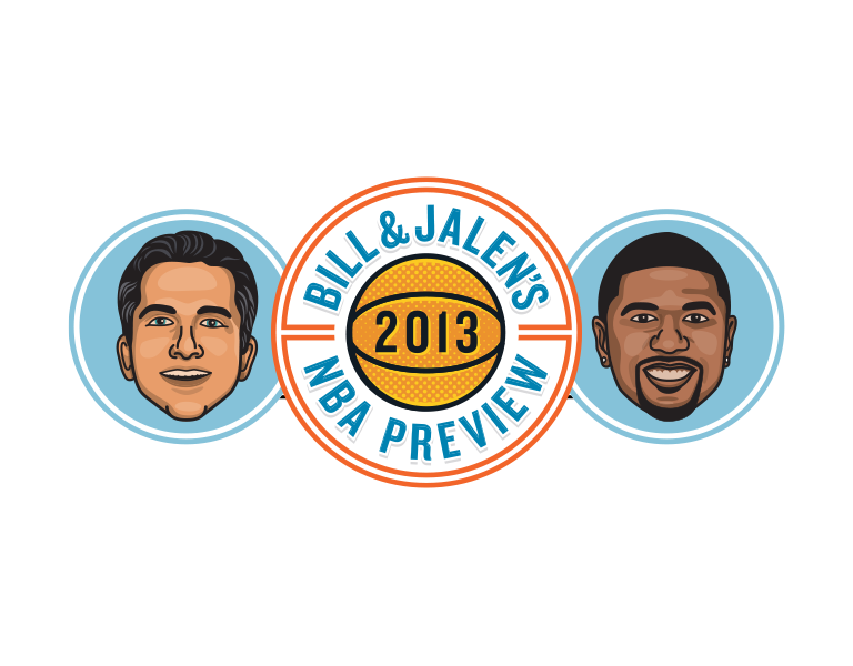 Grantland - Bill & Jalen's 2013 NBA Preview  - logo