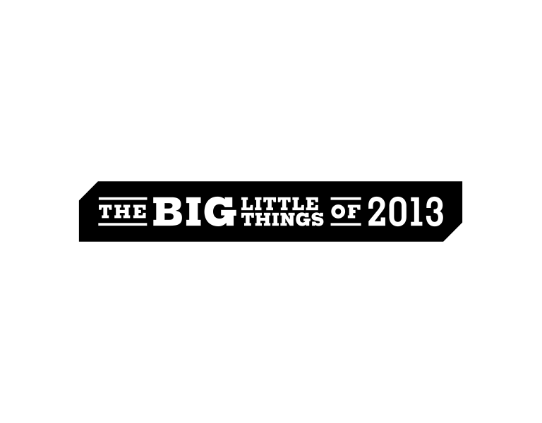 Grantland - The Big Little Things of 2013 - logo