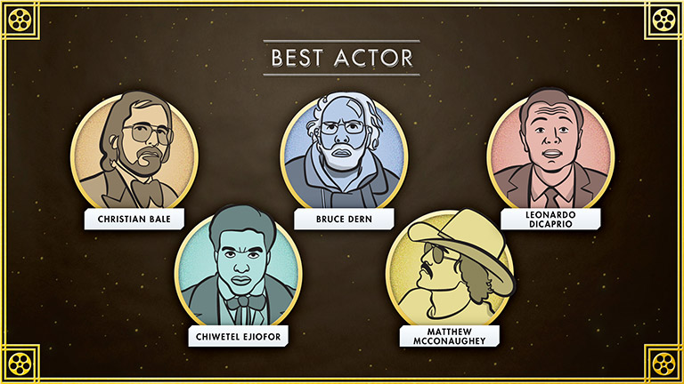 Grantland - Oscars Preview - nominees