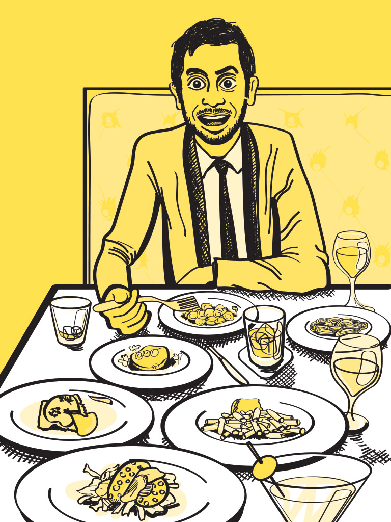 Grantland Quarterly: Dinner With Aziz