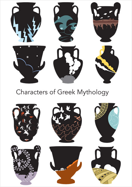 Characters of Greek Mythology - Cover