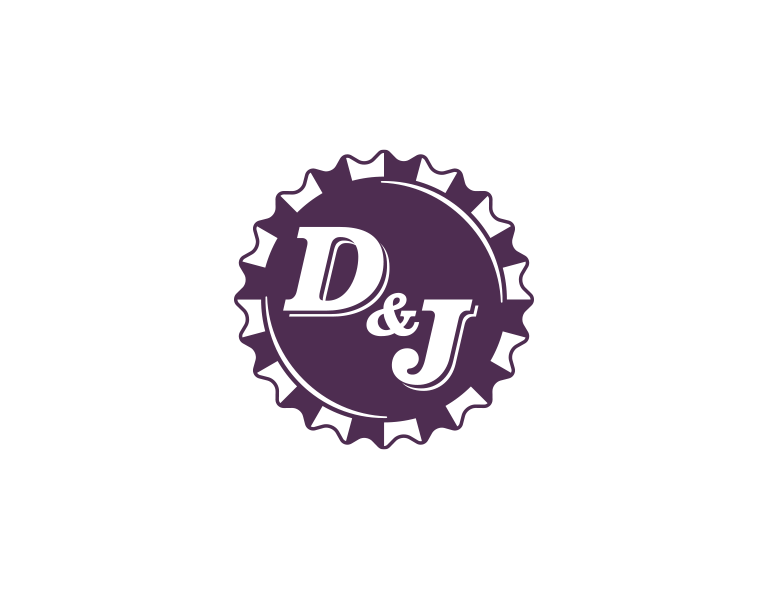 D&J Wedding logo