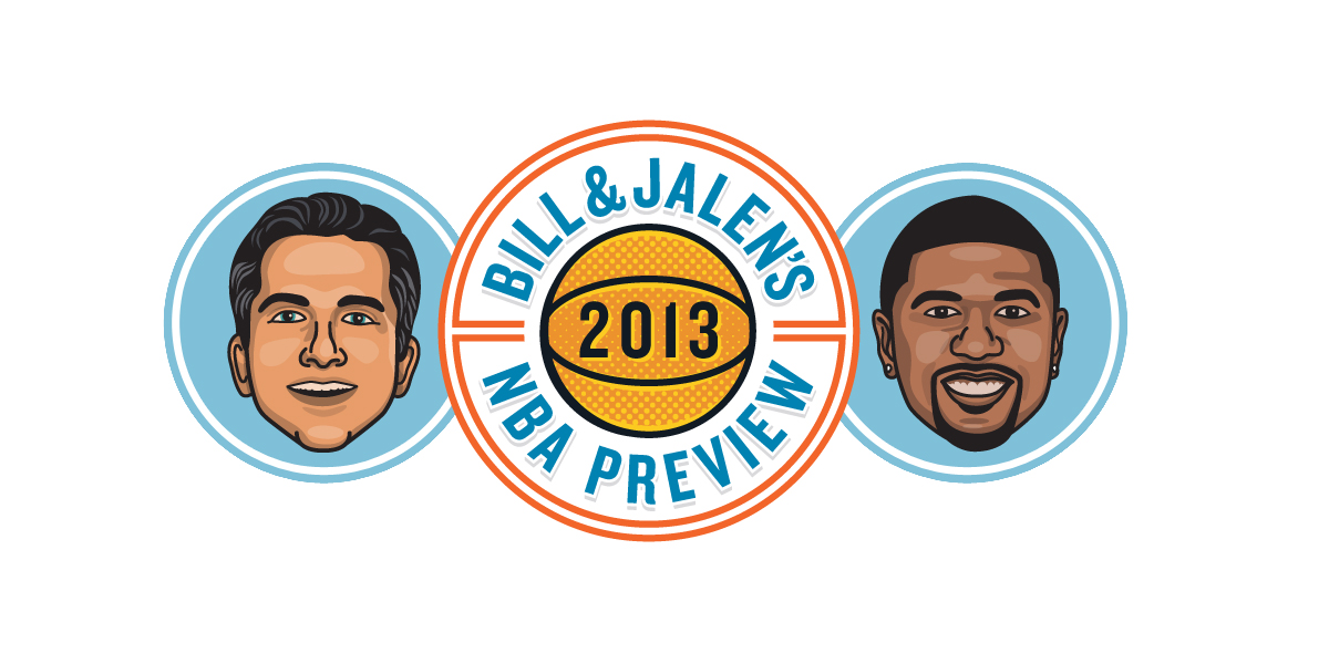 Bill & Jalen's 2013 NBA Preview - Logo