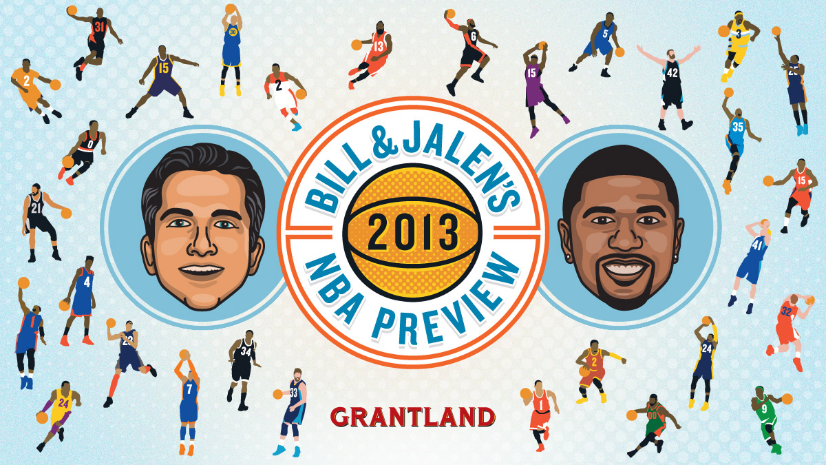 Bill & Jalen's 2013 NBA Preview - Title Slide