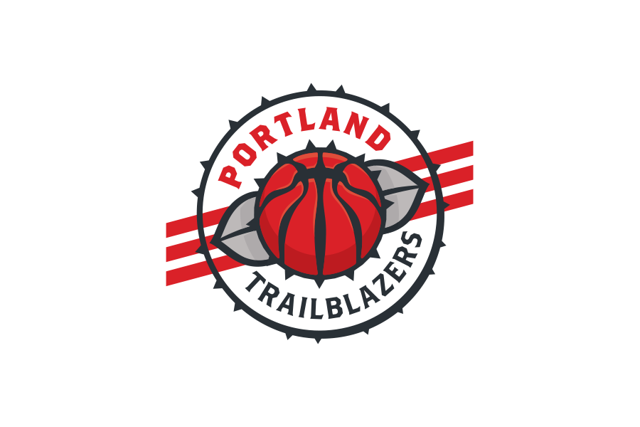 NBA Logo Redesigns: Portland Trailblazers