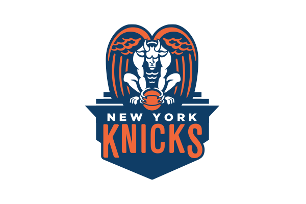 NBA Logo Redesigns: New York Knicks - alternate logo
