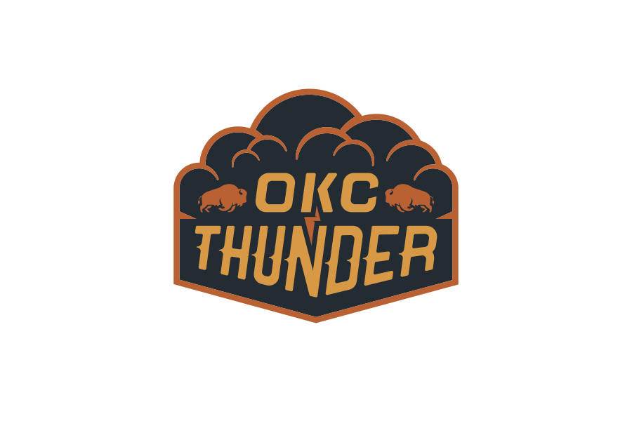 NBA Logo Redesigns: Oklahoma City Thunder
