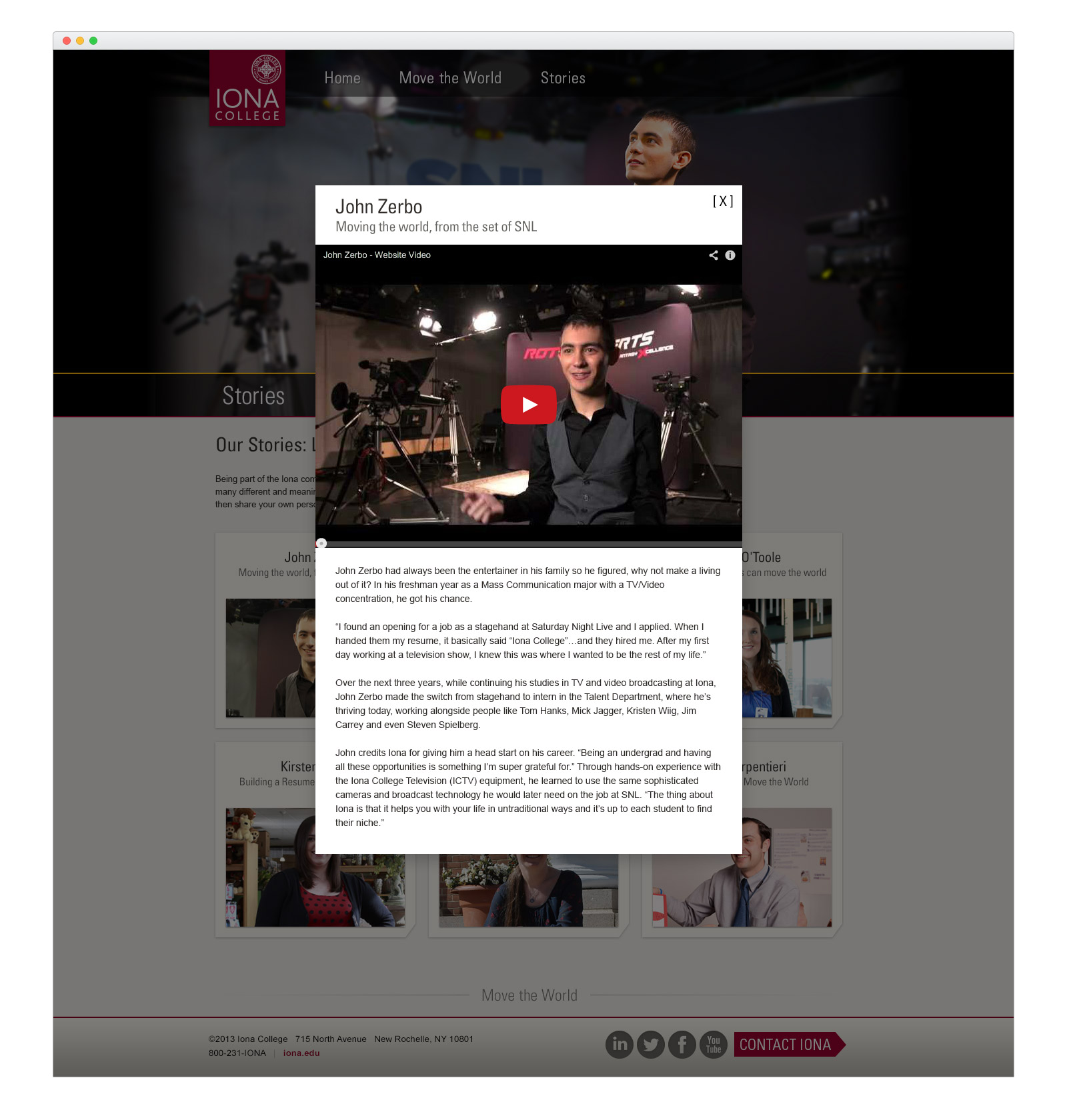 Iona Microsite - Stories - video - browser