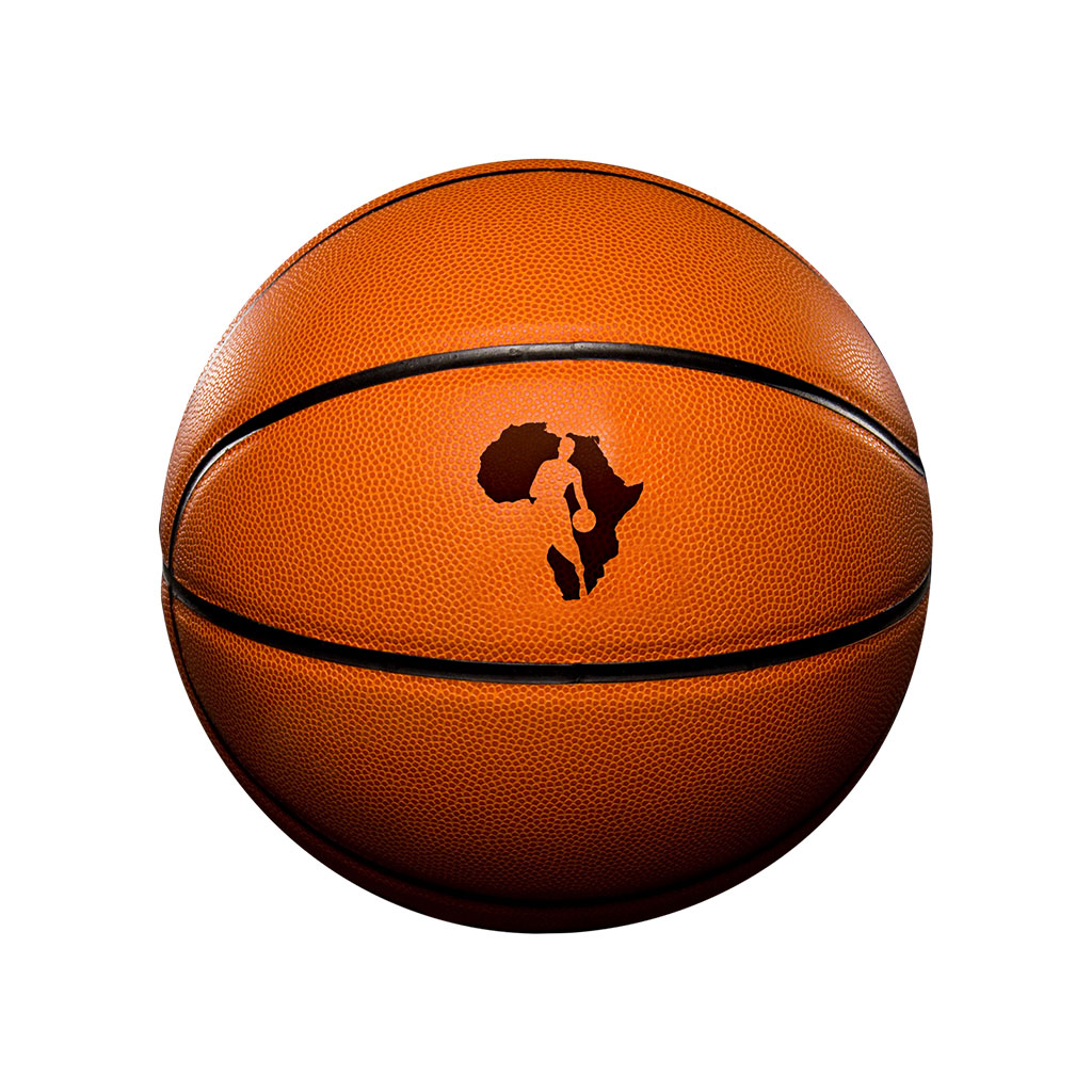 NBA Africa logo - ball