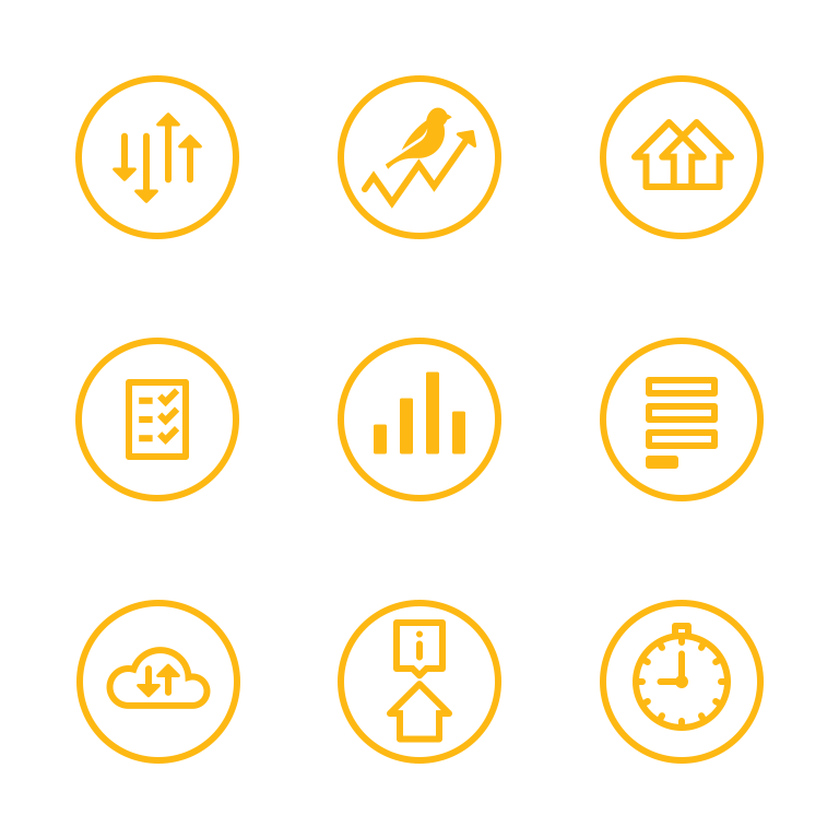 HouseCanary Appraiser - feature icons