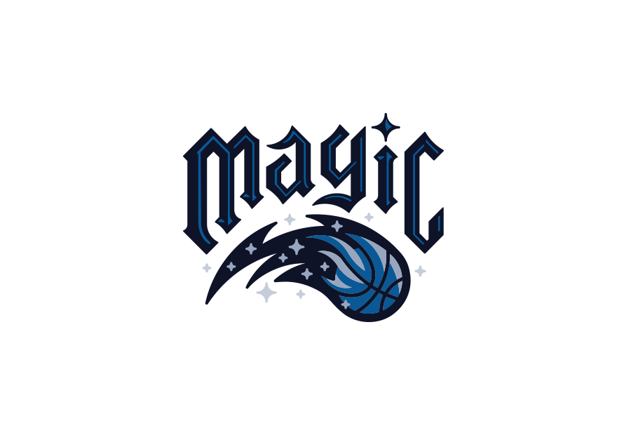 NBA Logo Redesign: Orlando Magic - lockup