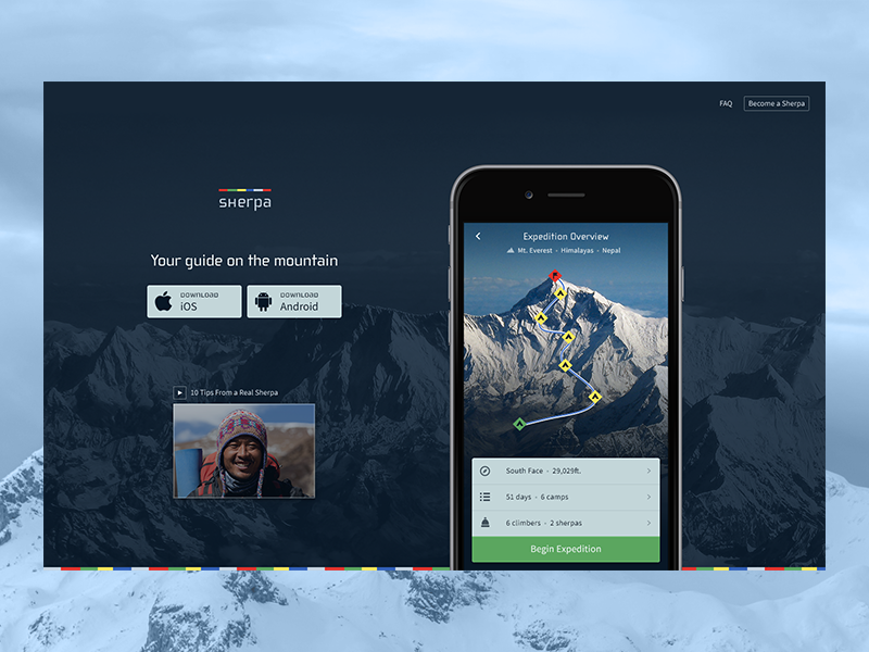 Daily UI Day 3 - Landing Page
