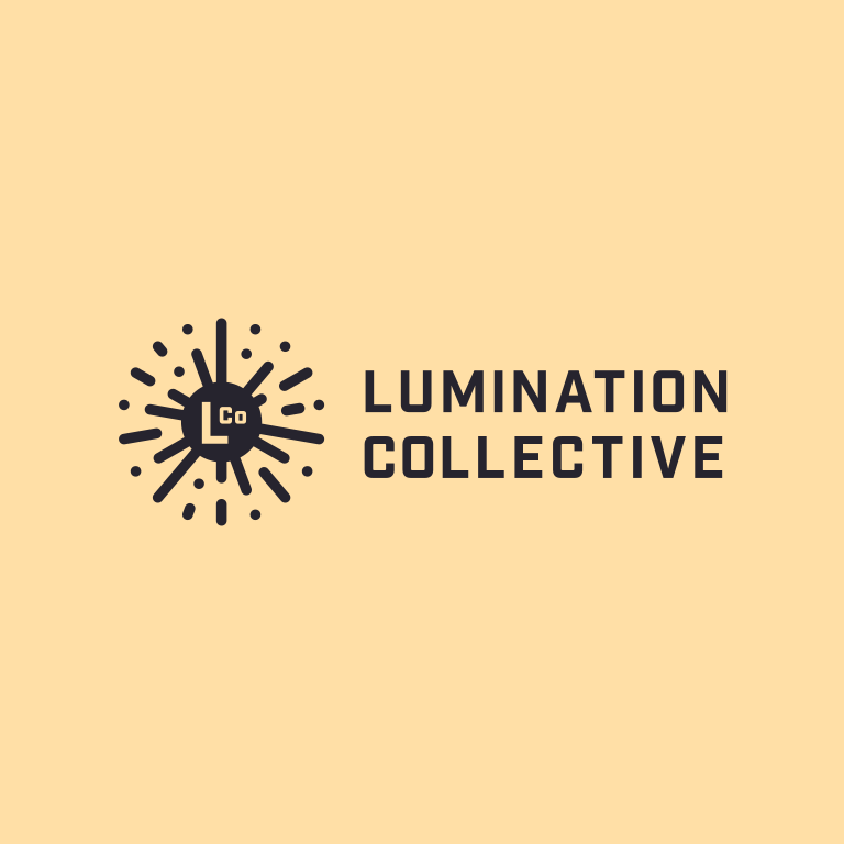 Lumination Collective logo - lockup