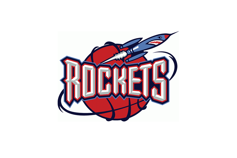 Houston Rockets logo - 1995/96 - 2002/03