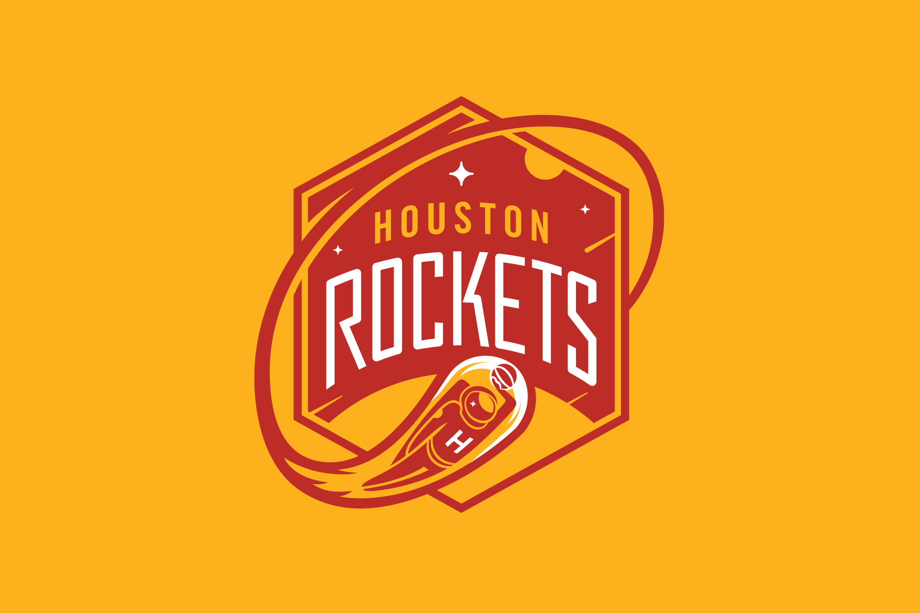 NBA Logo Redesigns: Houston Rockets