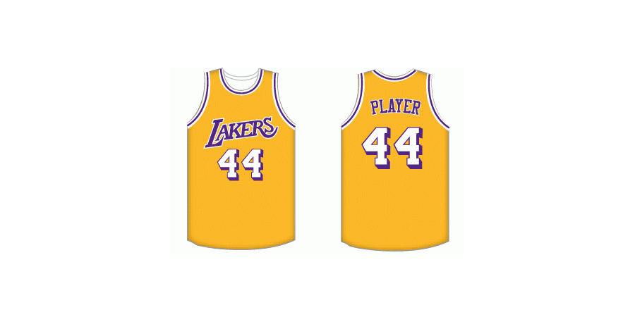Los Angeles Lakers jersey – 1974/75 – 1977/78