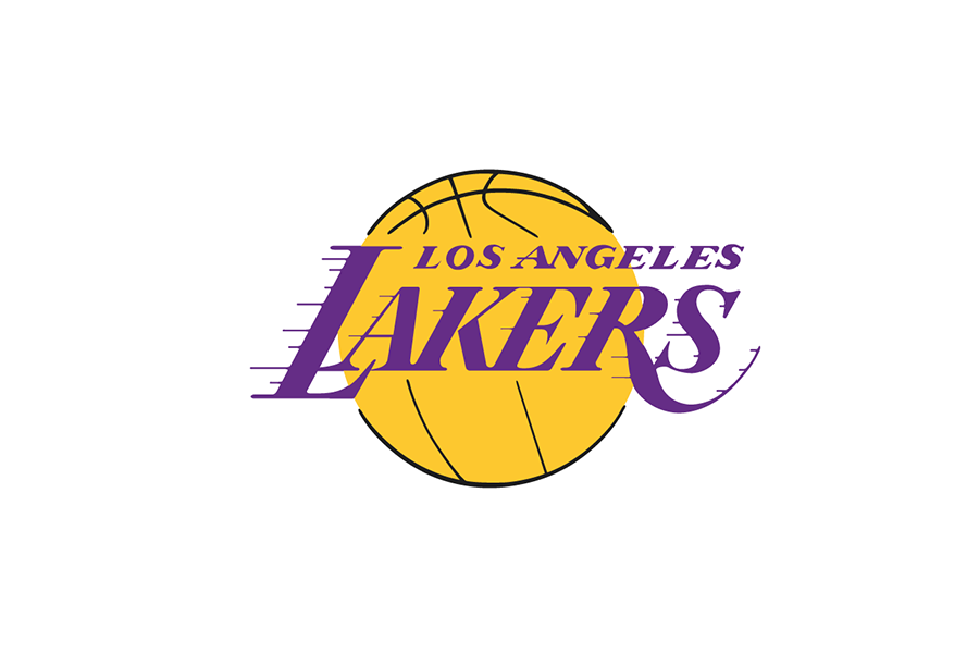 Michael weinstein nba logo redesigns los angeles lakers los angeles lakers logo 200001 present voltagebd Images