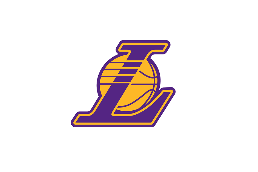 Michael weinstein nba logo redesigns los angeles lakers los angeles lakers alt logo 200001 present voltagebd Images