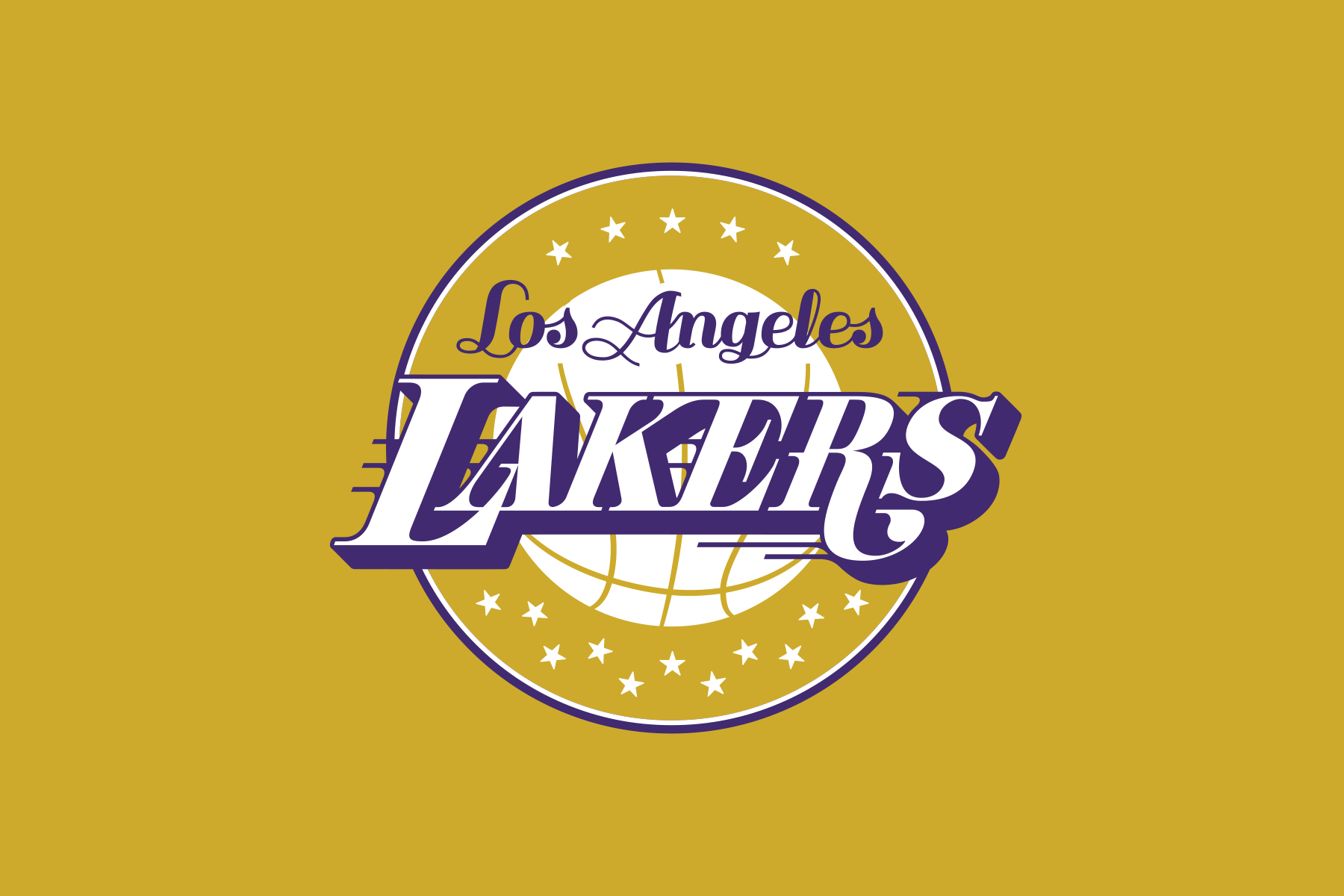 NBA Logo Redesigns: Los Angeles Lakers