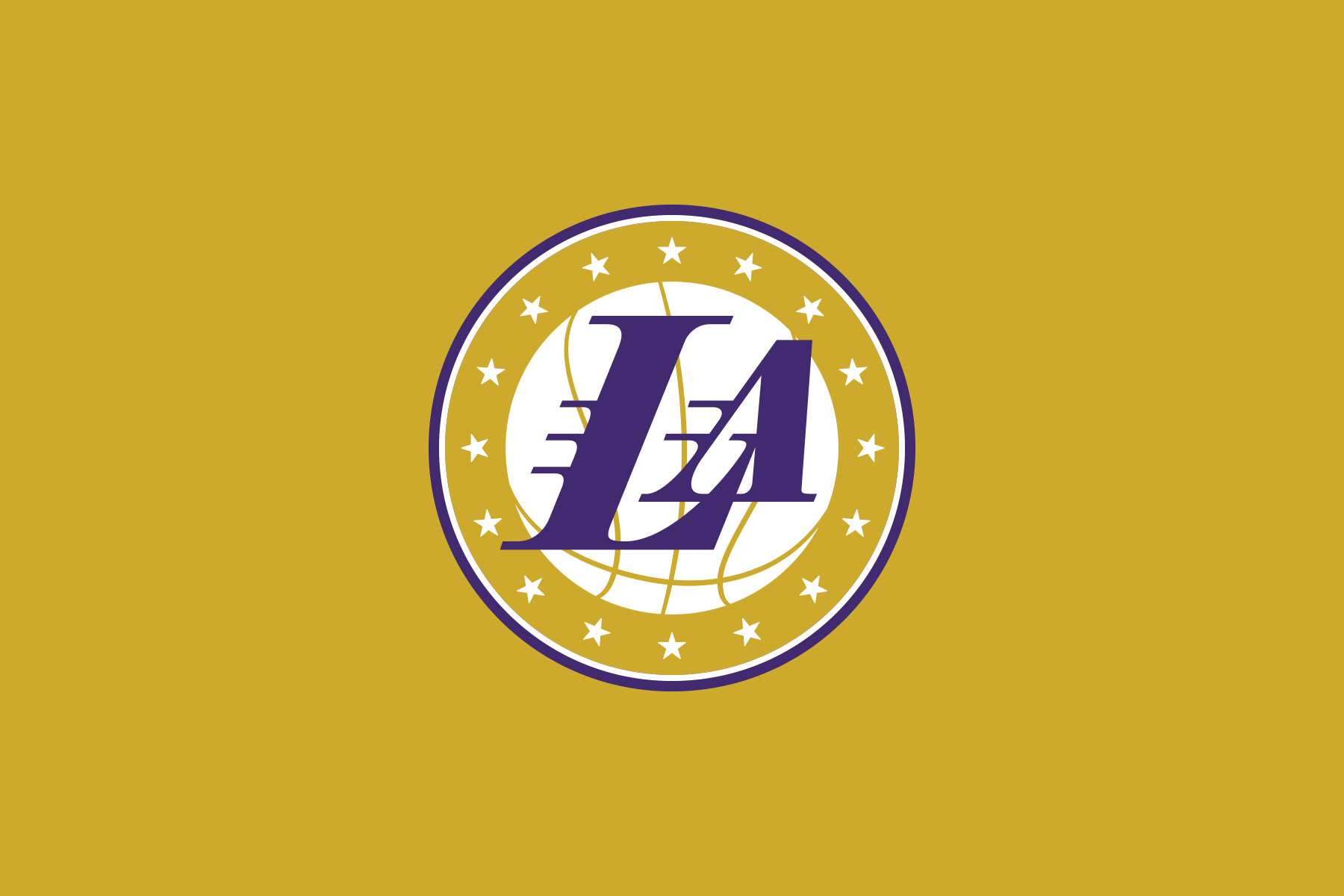 NBA Logo Redesigns: Los Angeles Lakers - secondary logo