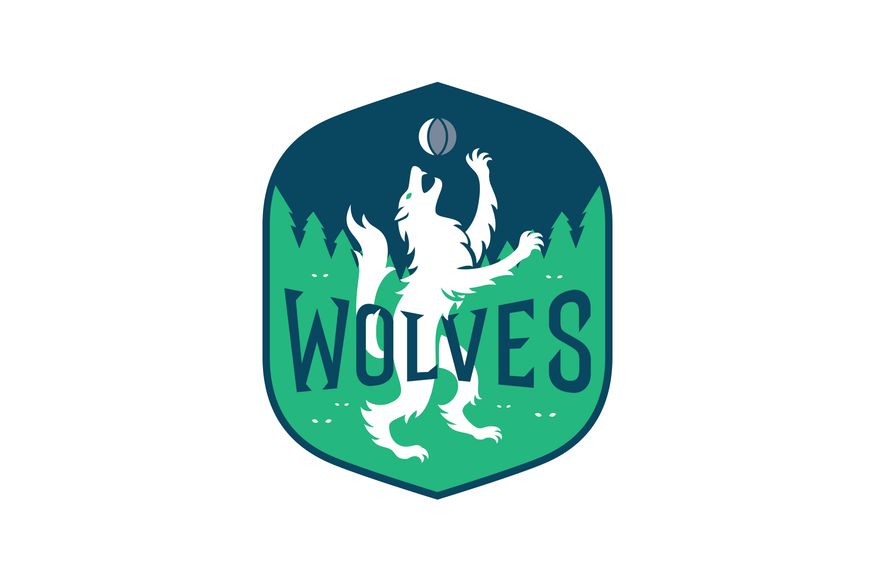 Michael Weinstein Nba Logo Redesigns Minnesota Timberwolves