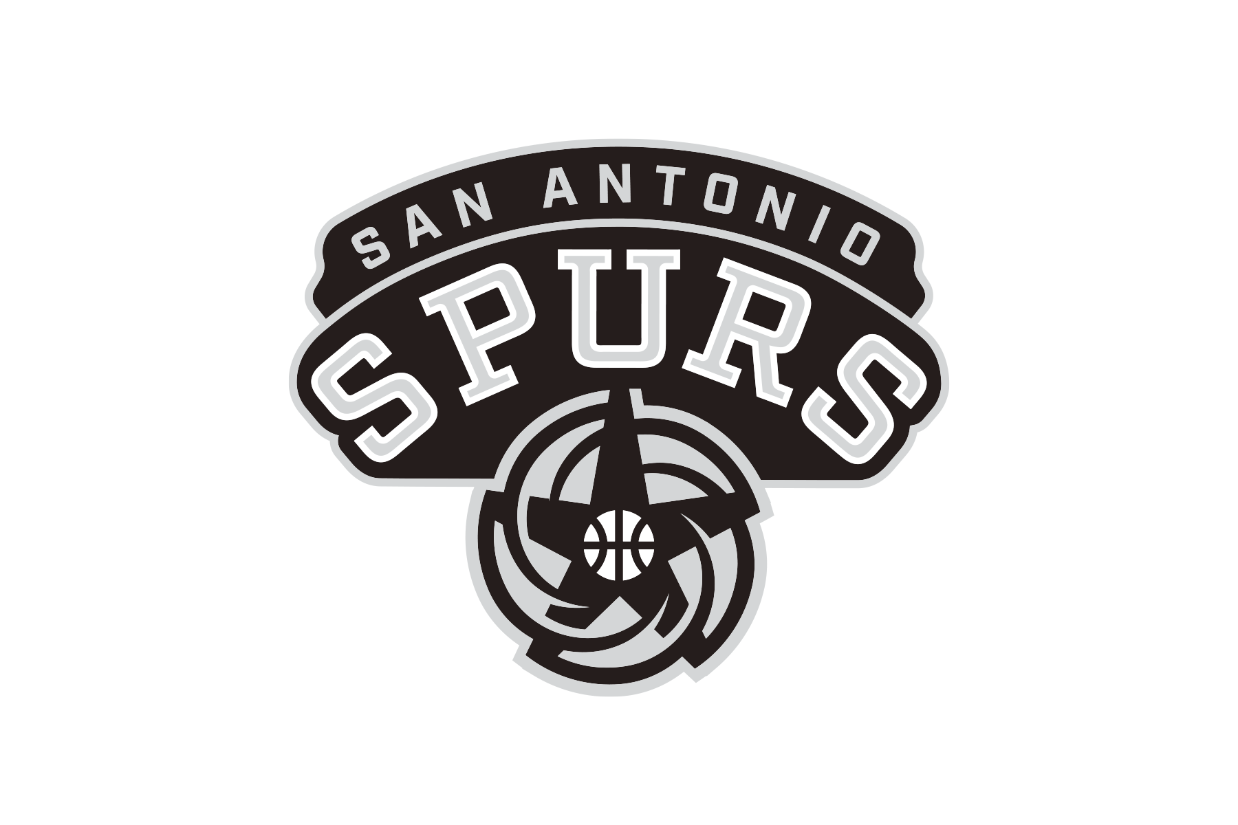NBA Logo Redesigns San Antonio Spurs