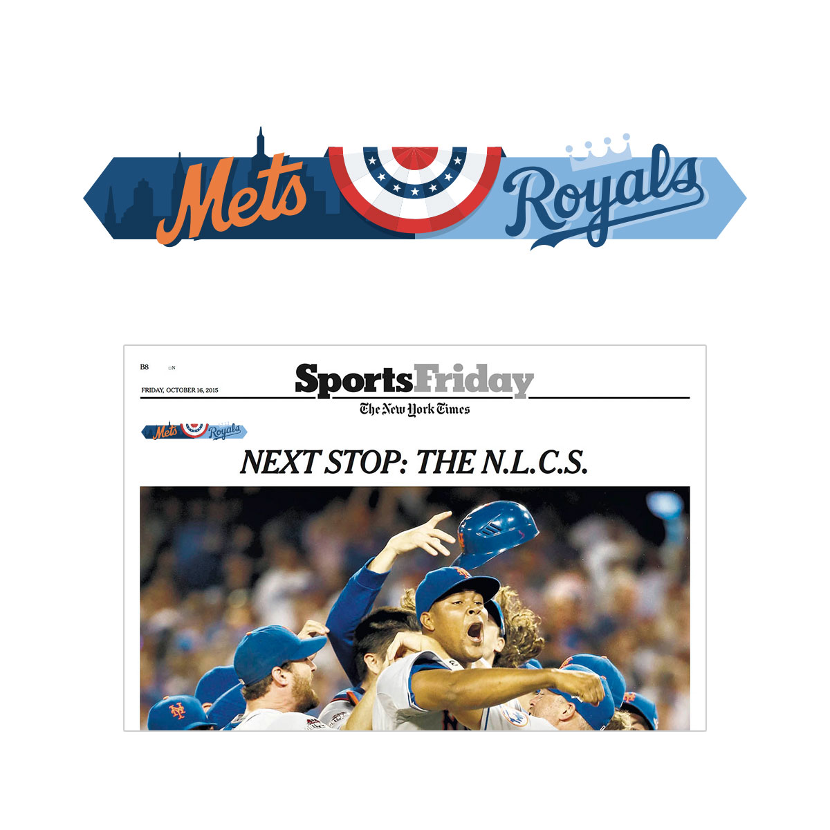 New York Times - 2015 World Series