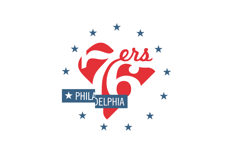 Michael Weinstein Nba Logo Redesigns Philadelphia 76ers