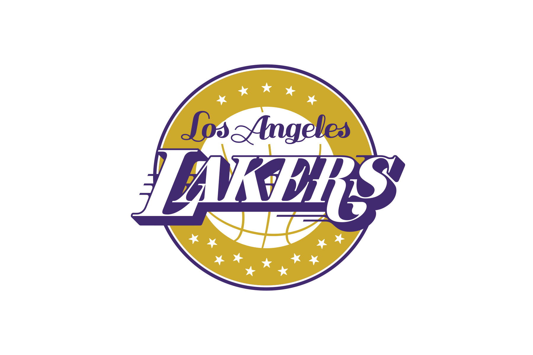 Michael weinstein nba logo redesigns los angeles lakers nba logo redesigns los angeles lakers voltagebd Image collections
